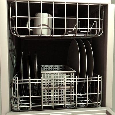 dish washer 3d max
