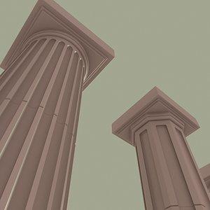 architectural columns max