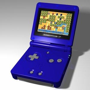 video console 3d model
