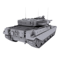 chieftain tank 3d 3ds
