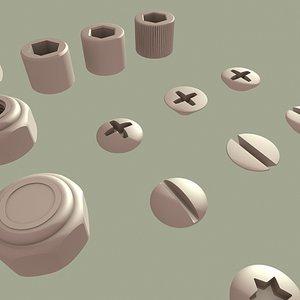 nuts screws max