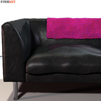 3d upholstered sofa model
