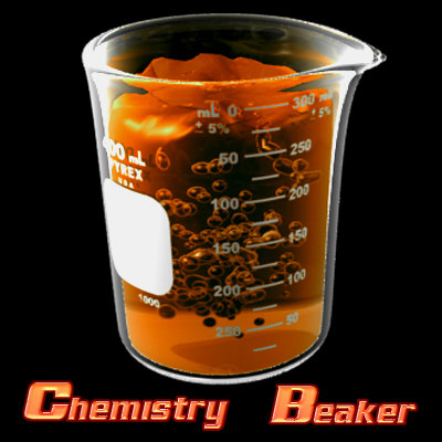 chemistry beaker lwo