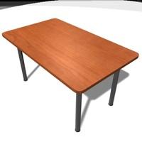 3d model table furniture desk