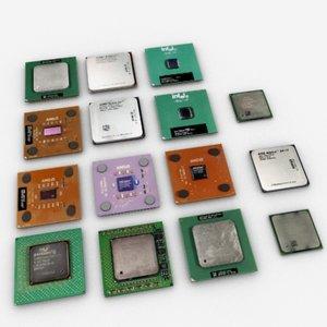 processor pentium 3d max