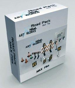 3d road pack model