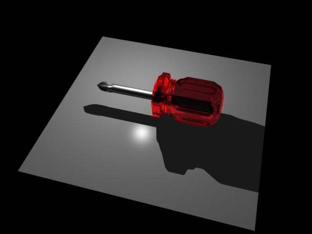 mini screwdriver 3d dxf