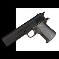 colt 45 pistol 3d pz3