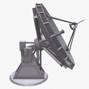 satellite dish antenna 3d model