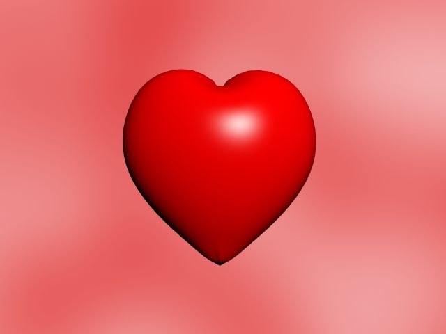 heart 3d 3ds