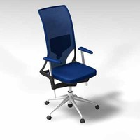 vitra meda 2 office chair 3d model