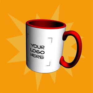 3dsmax coffee mug