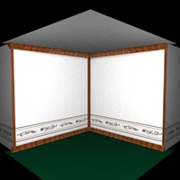 mouldings wallpaper 3d c4d