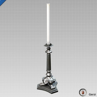 max victorian candlestick candle