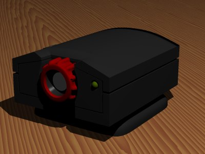 free 3ds model webcam vicam 3com