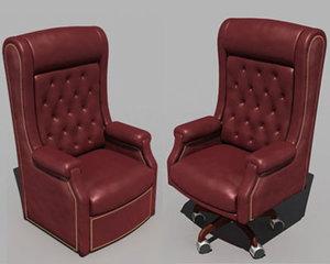 la-z-boy el presidente chairs 3d max