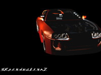 toyota supra body kit 3d model