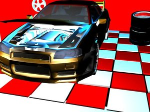 3d wide body nissan skyline