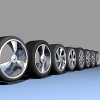 8 wheels