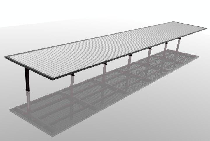 free carport 3d model
