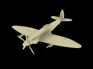 3d spitfire model