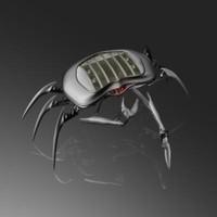 3d mechanical crab