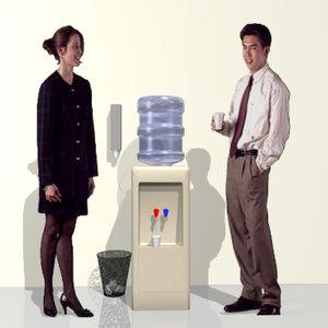 water cooler dispenser 3d model