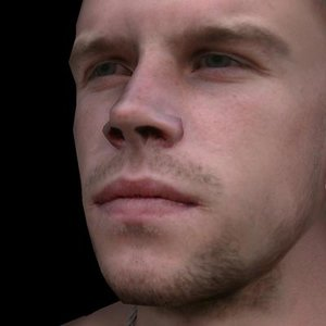 3d ma character realistic animate
