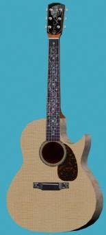 acoustic guitar 3ds