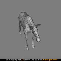 young moose 3d model