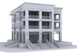 3ds max ocean building