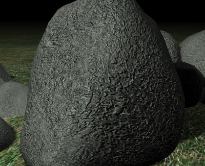 free max mode rocks ground