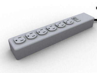 3ds max power strip