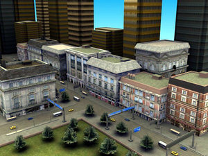 3d model street environment games