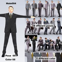 3d obj male man people