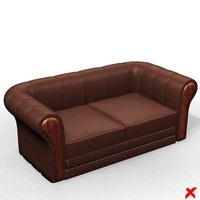 Sofa loveseat054_max.ZIP