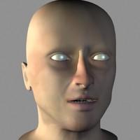 3d model stan human head