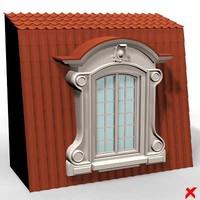 exterior window 3d model