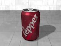 3d soda beer