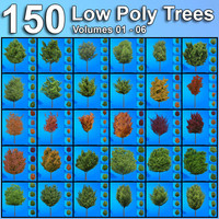 Bundle-Low-Polygon-Trees-Volumes 1-6