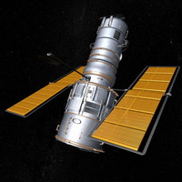 Hubble Telescope (Maya)