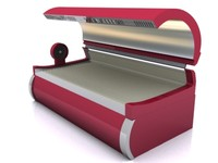 sunbed bed 3d model