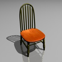 dining room chair fbx