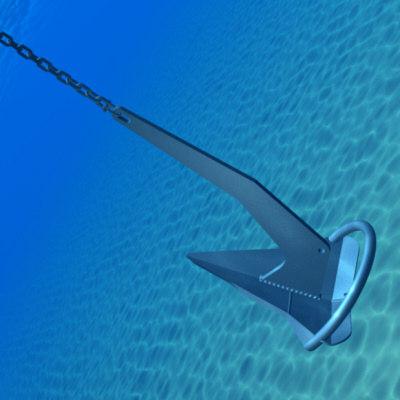 new generation type marine 3d model