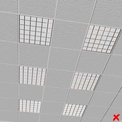lamp panel 3d max