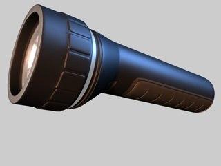 c4d flashlight light