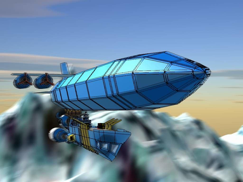 free lwo mode airship