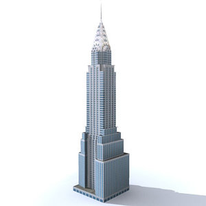 3d chrysler building