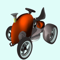 3d 3ds racing mower