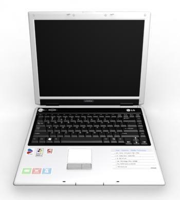 notebook lg ls50 3d model